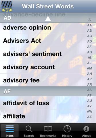 Скриншот из Wall Street Words