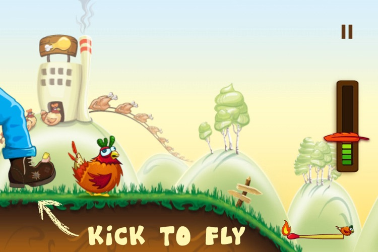 Rocket Chicken (Fly Without Wings)