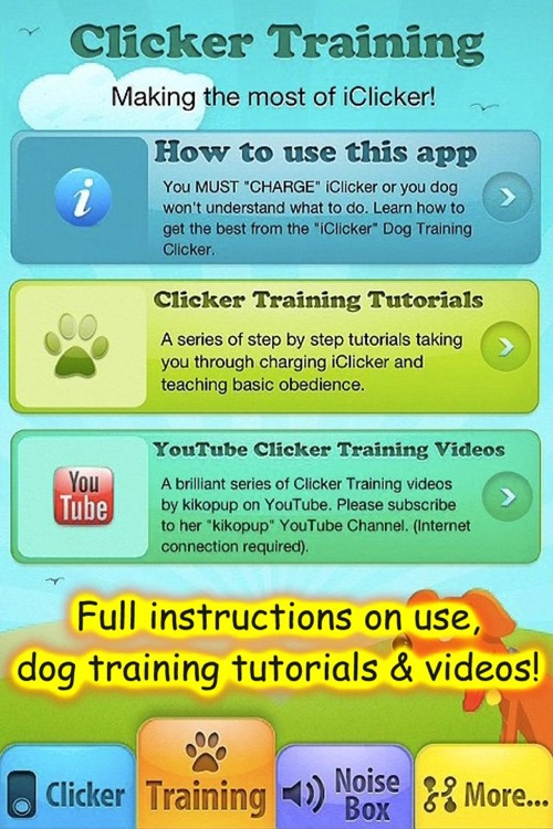 iClicker - Free Dog Training Clicker