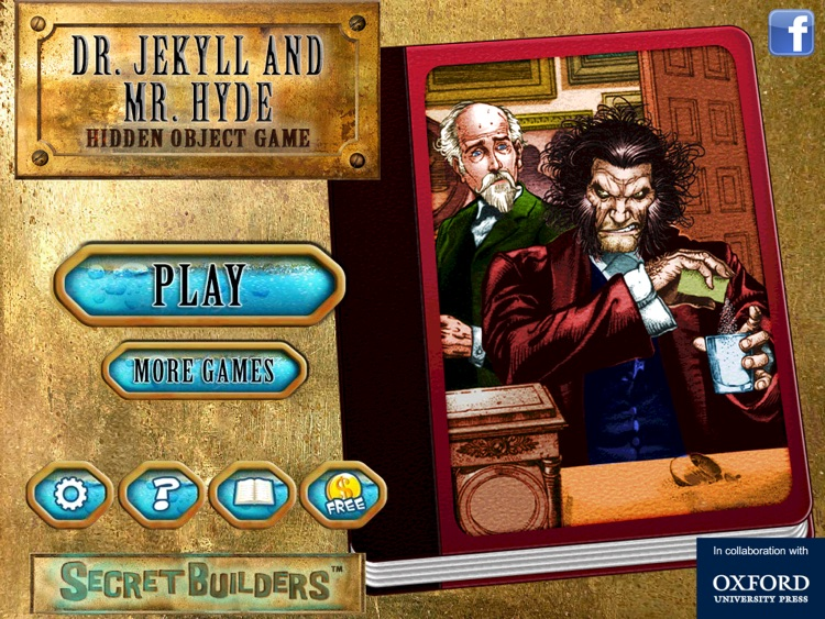 Hidden Object Game FREE - Dr. Jekyll and Mr. Hyde screenshot-0