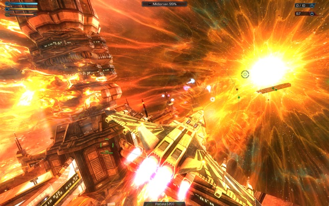 Galaxy on Fire 2™ Full HD Screenshot