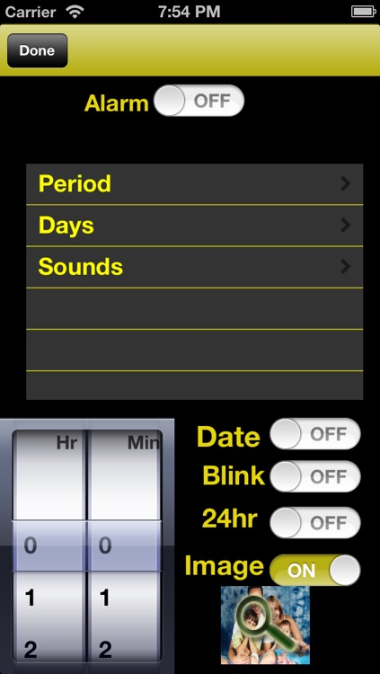 Gold Alarm Clock screenshot-3