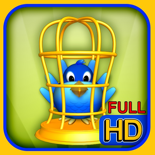 Bird In Cage HD: 90 Levels Pack icon