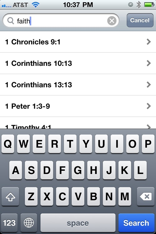 Daily Bible Verses (KJV,NIV,ASV) screenshot-2