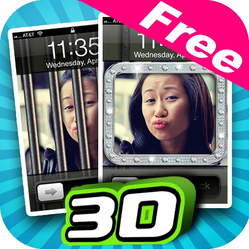 3D Lock Screen Maker Free icon