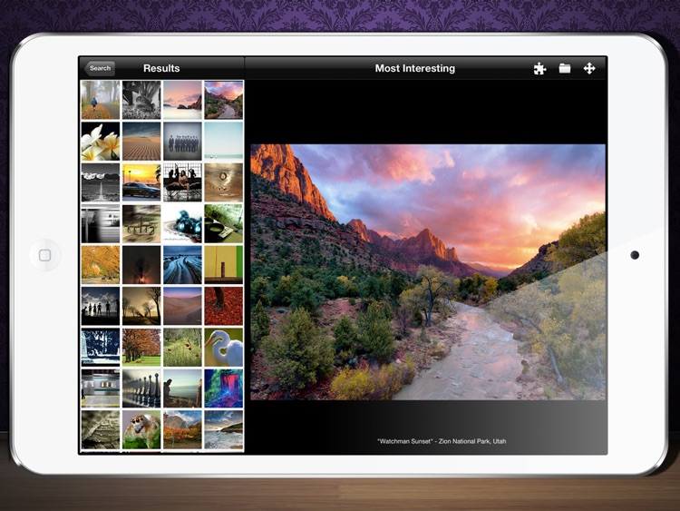 Flickr Photo Viewer And Puzzle Maker screenshot-3