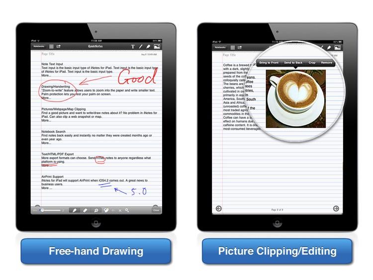 iNotes for iPad