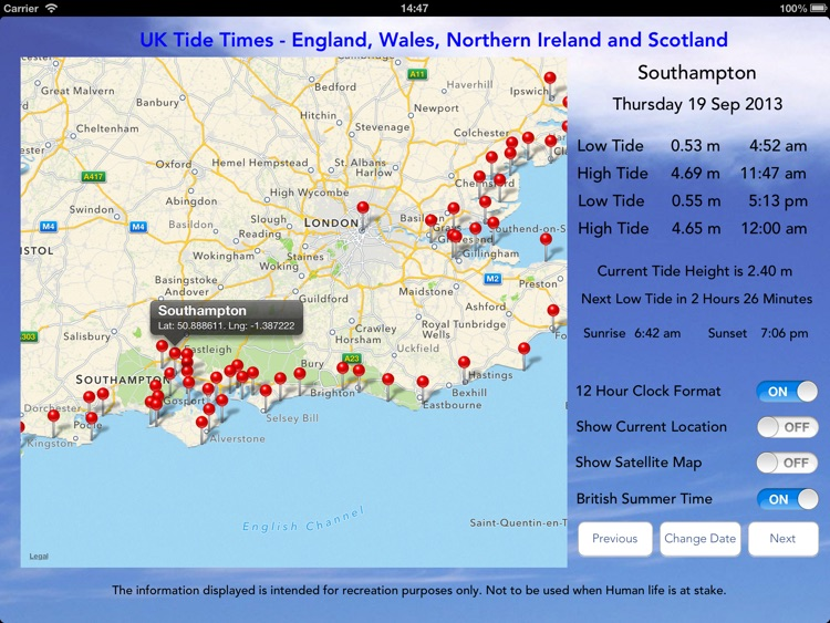UK Tide Times Pro screenshot-3