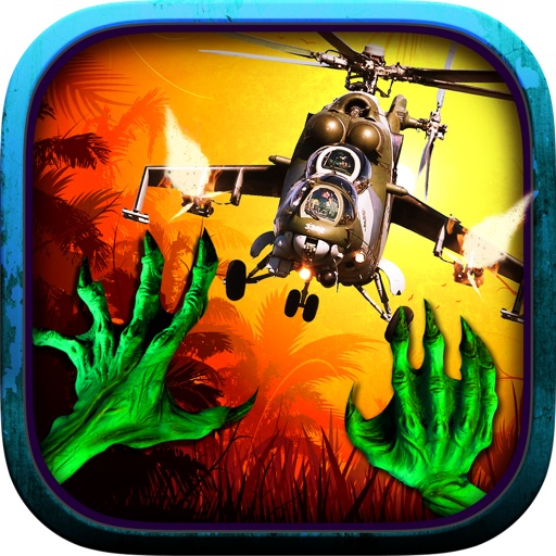 3D Village Warfare by helicopter