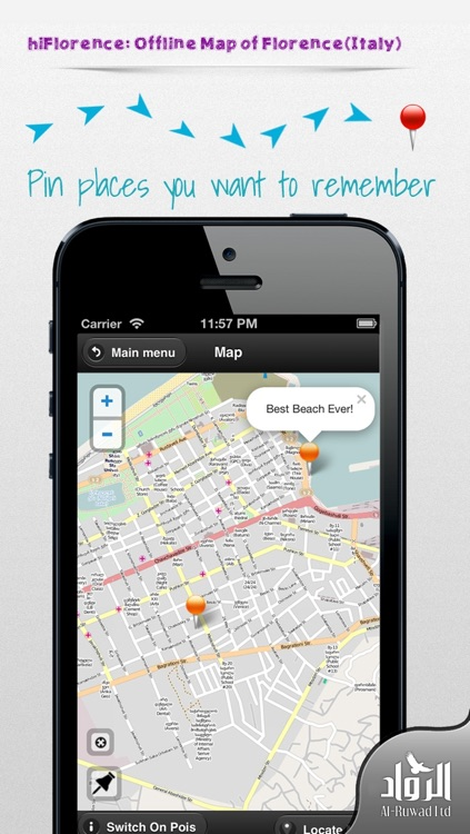 hiFlorence: Offline Map of Florence (Italy) screenshot-1