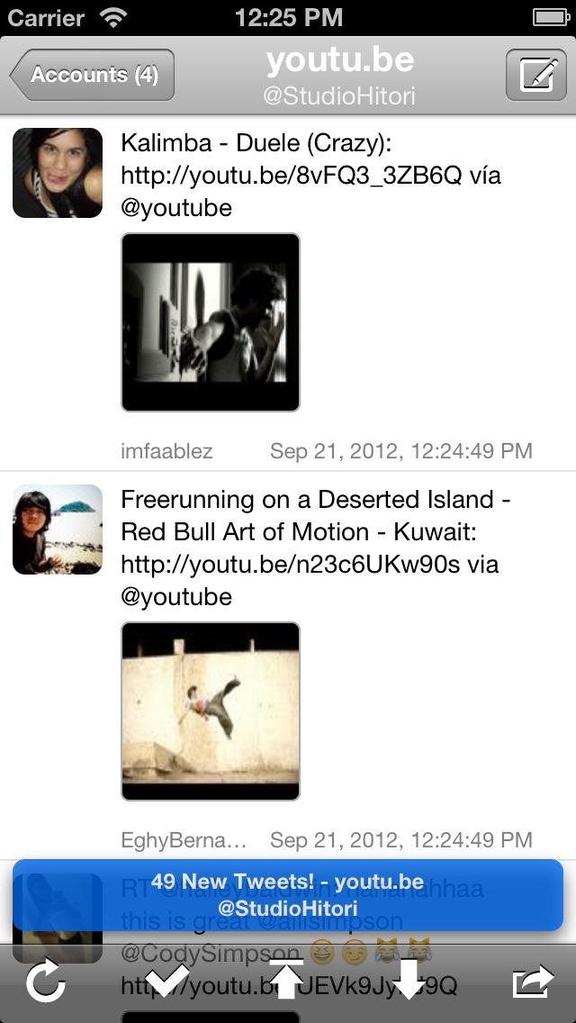 Screenshot #2 pour TwitRocker2 for iPhone - la prochaine génération de client twitter