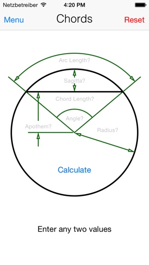 Trigonometry Calculator Solves Regular Irregular Triangles Chords
