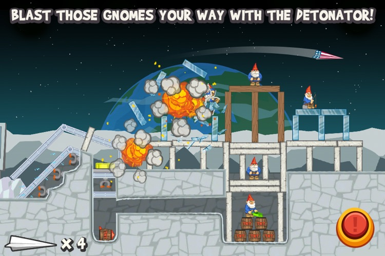 Paper Glider vs. Gnomes screenshot-2