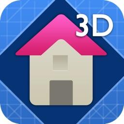 Interior Design 3D- floor plan & home calculator