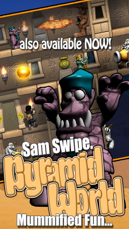 Sam Swipe Castle World screenshot-3