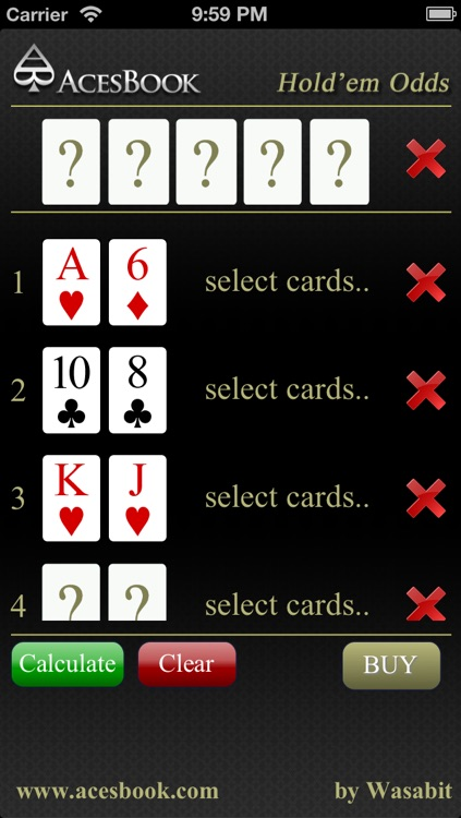 Hold'em Odds Lite screenshot-2