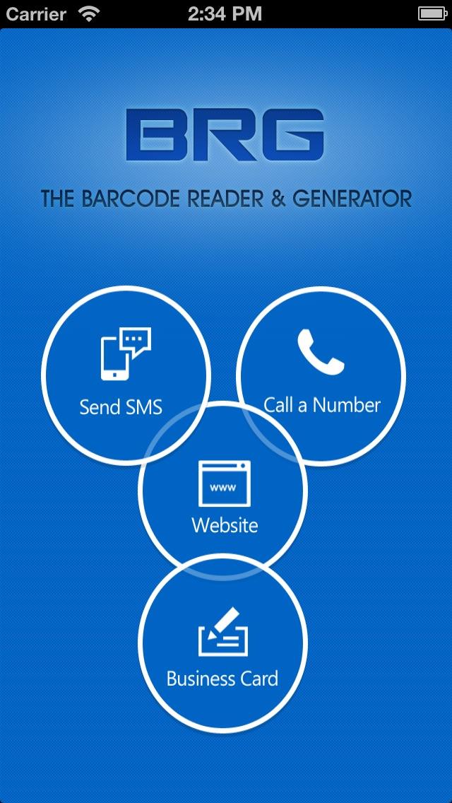 BRG - Barcode Reader & Generator Screenshot on iOS