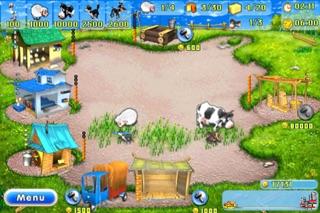 Farm Frenzy Lite Screenshot on iOS