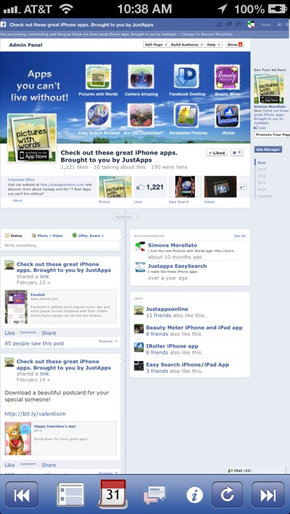 Facefull for facebook full site desktop version screenshot-4