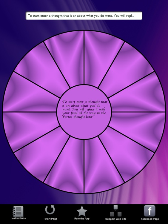 Law of Attraction Focus Wheel HD screenshot-3