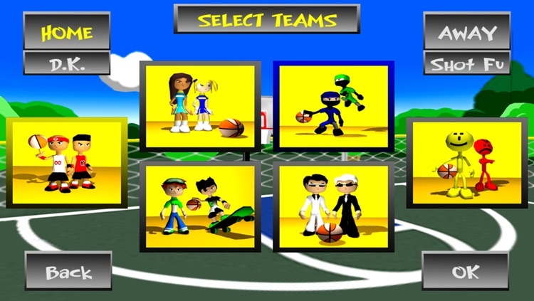 Funky Hoops Basketball screenshot-2