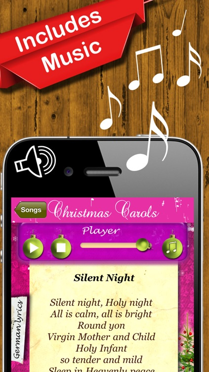 Christmas Carols - The Most Beautiful Christmas Songs to Hear & Sing screenshot-1