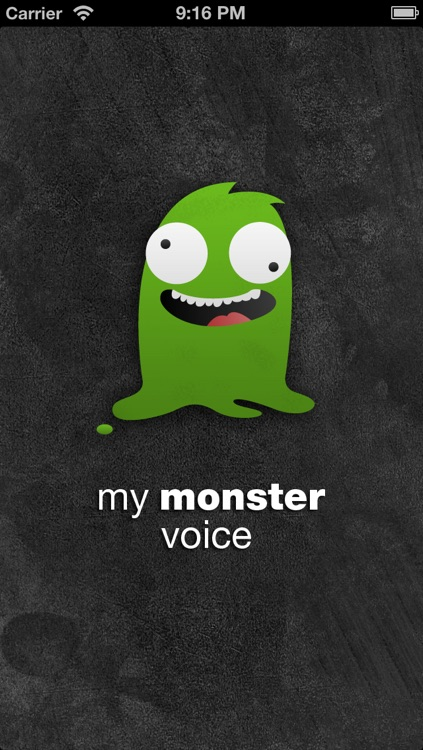 my monster voice