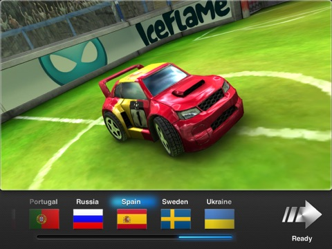 Игра Soccer Rally