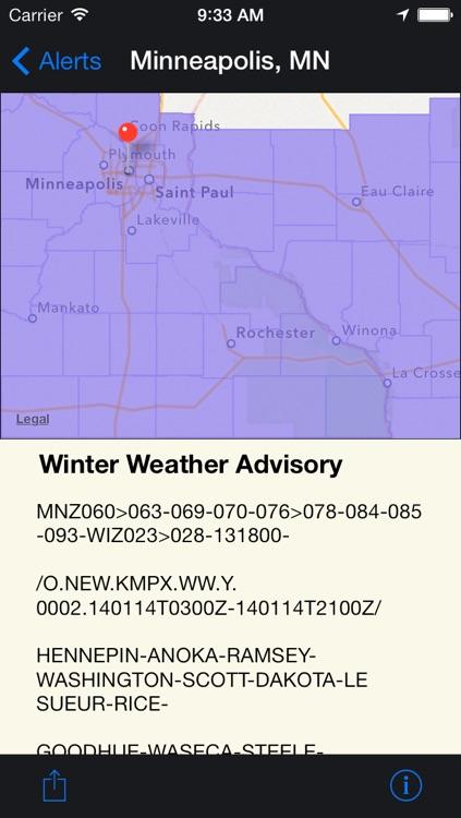 FLASH Weather Alerts screenshot-3