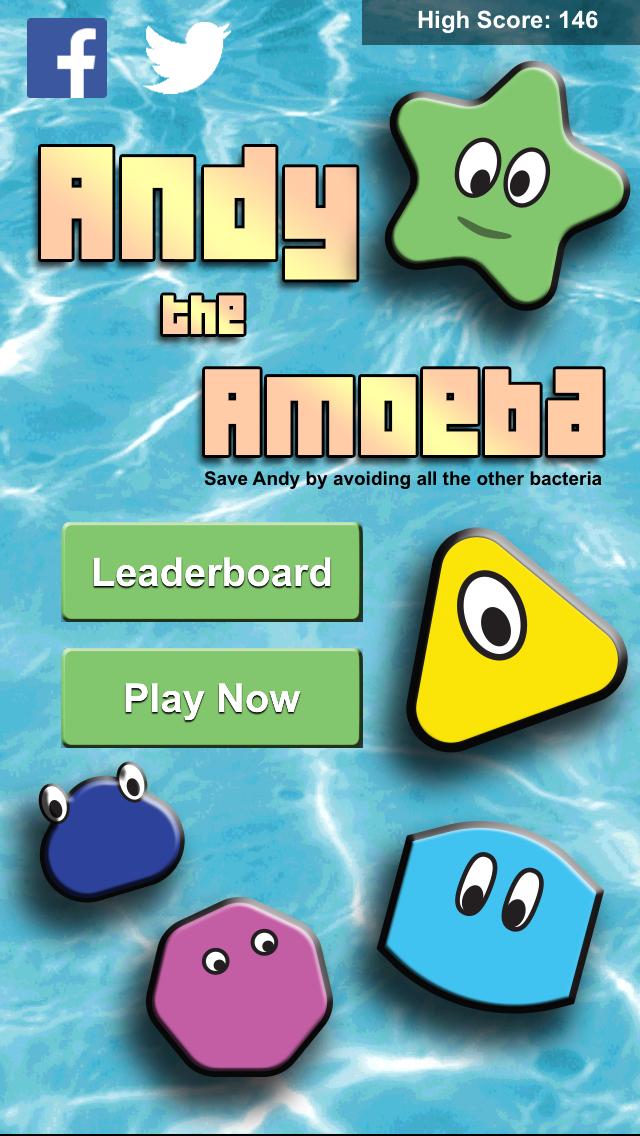 Andy the Amoeba - Bacteria Attackのおすすめ画像1