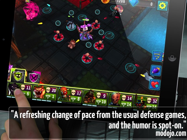 ‎Vampire Season - Monster Defense Screenshot