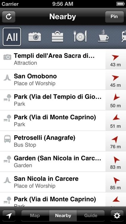 Smart Maps - Rome