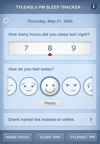 Sleep Tracker   TYLENOL® PM screenshot-0