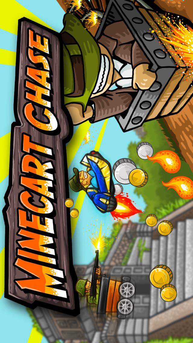 Minecart Chase Screenshot
