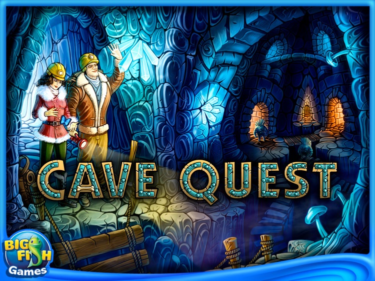 Cave Quest HD screenshot-0