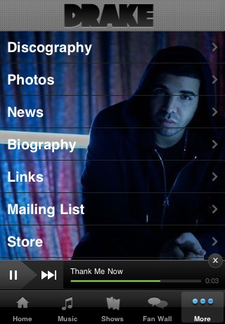 Drake Official screenshot-2