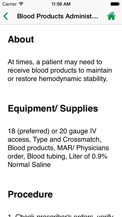 NurseTabs: Fundamentals screenshot-4