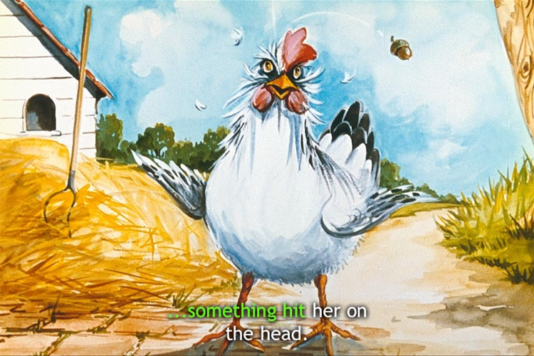 Henny Penny - iStoryTime Children's Book
