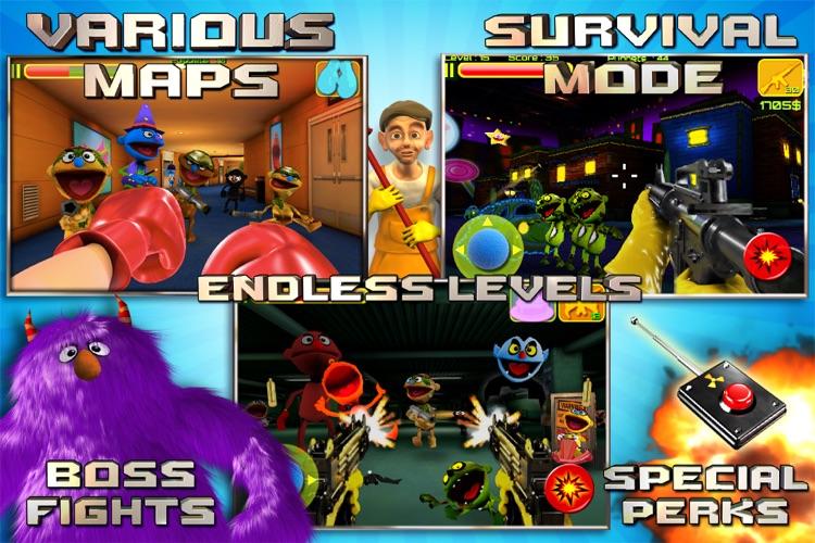 Puppet War:FPS screenshot-4