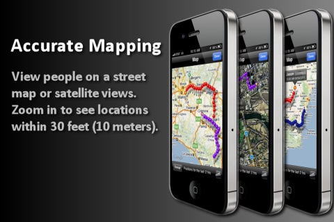 GPS Tracker (Follow Other Phones For Free) Screenshot
