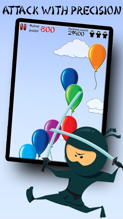 Balloon Ninja - Relax with the Best Fun and Cool Free Action Game App for Kids and Family