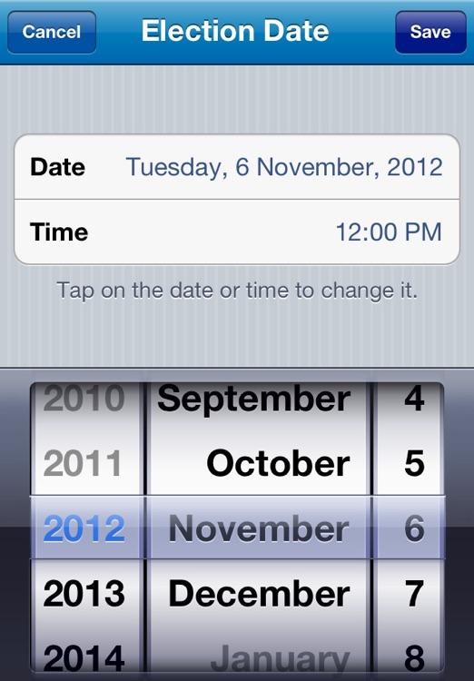 Election Countdown screenshot-3