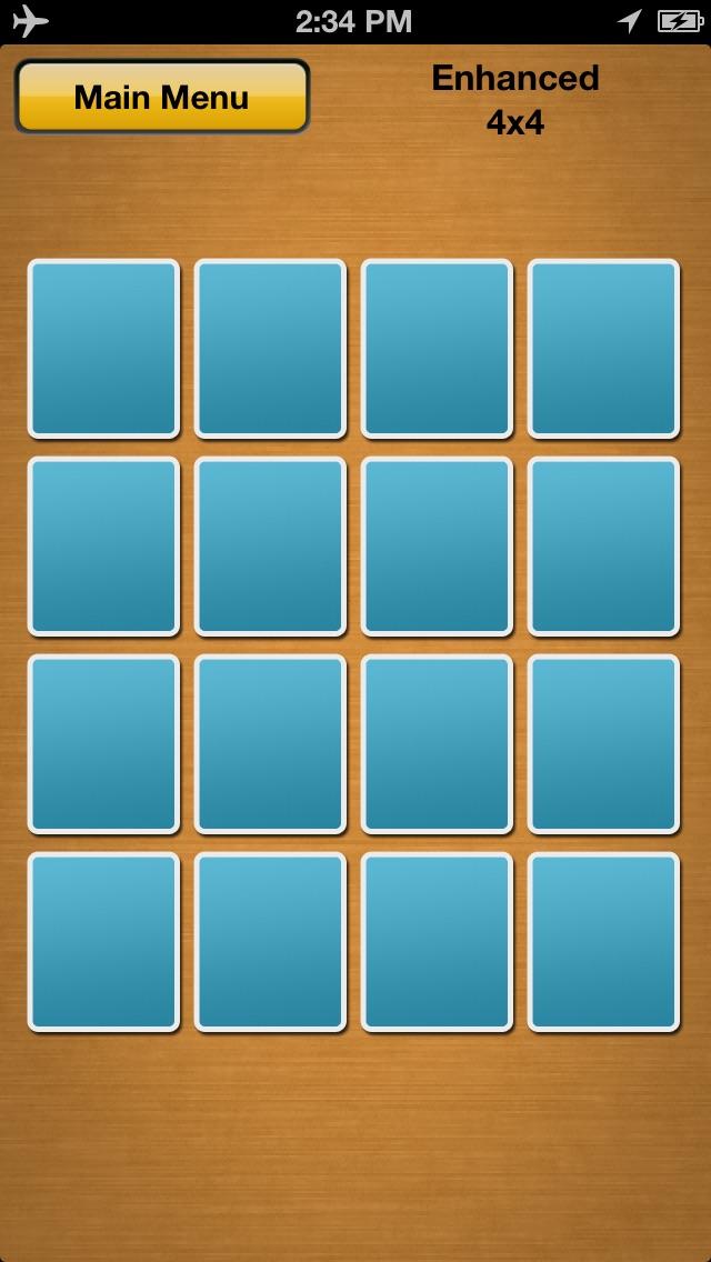 Memory Matches Screenshot