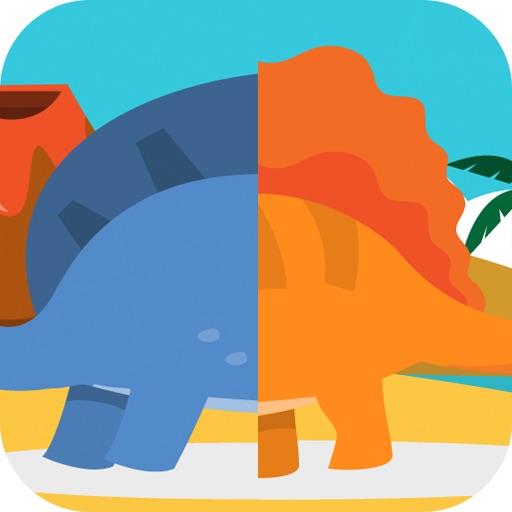 Dinosaurs Mix & Match - PreSchool Fun
