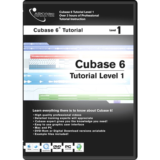 Cubase 6 Tutorial Level 1