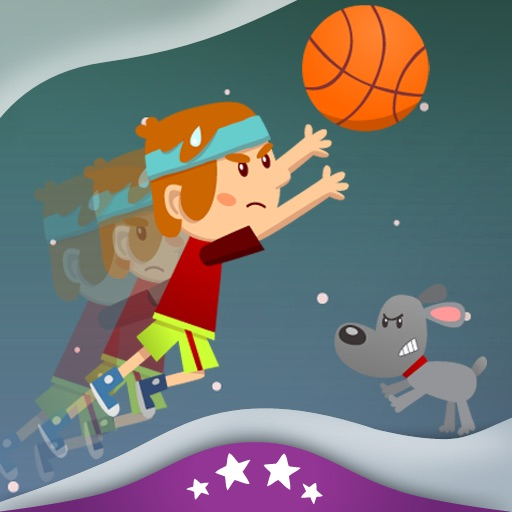 #1 Basketball Fan - Children's Story Book icon