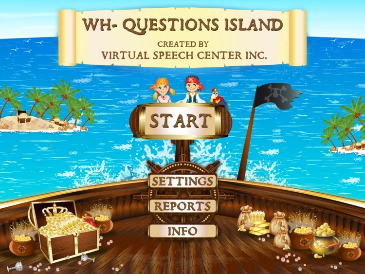 WH-Questions Island screenshot-0