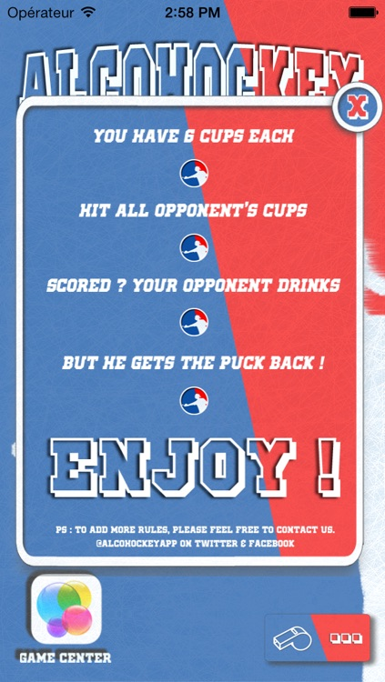 AlcoHockey - Drinking Game - Canadian variation of beer pong - Ice Air hockey - Alchockey