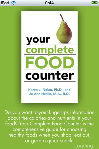 Your Complete Food Counter