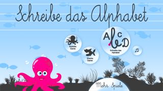 Schreibe das Alphabet - Kostenlose Spiele für KinderScreenshot von 4